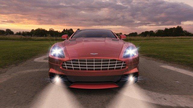 auto světla